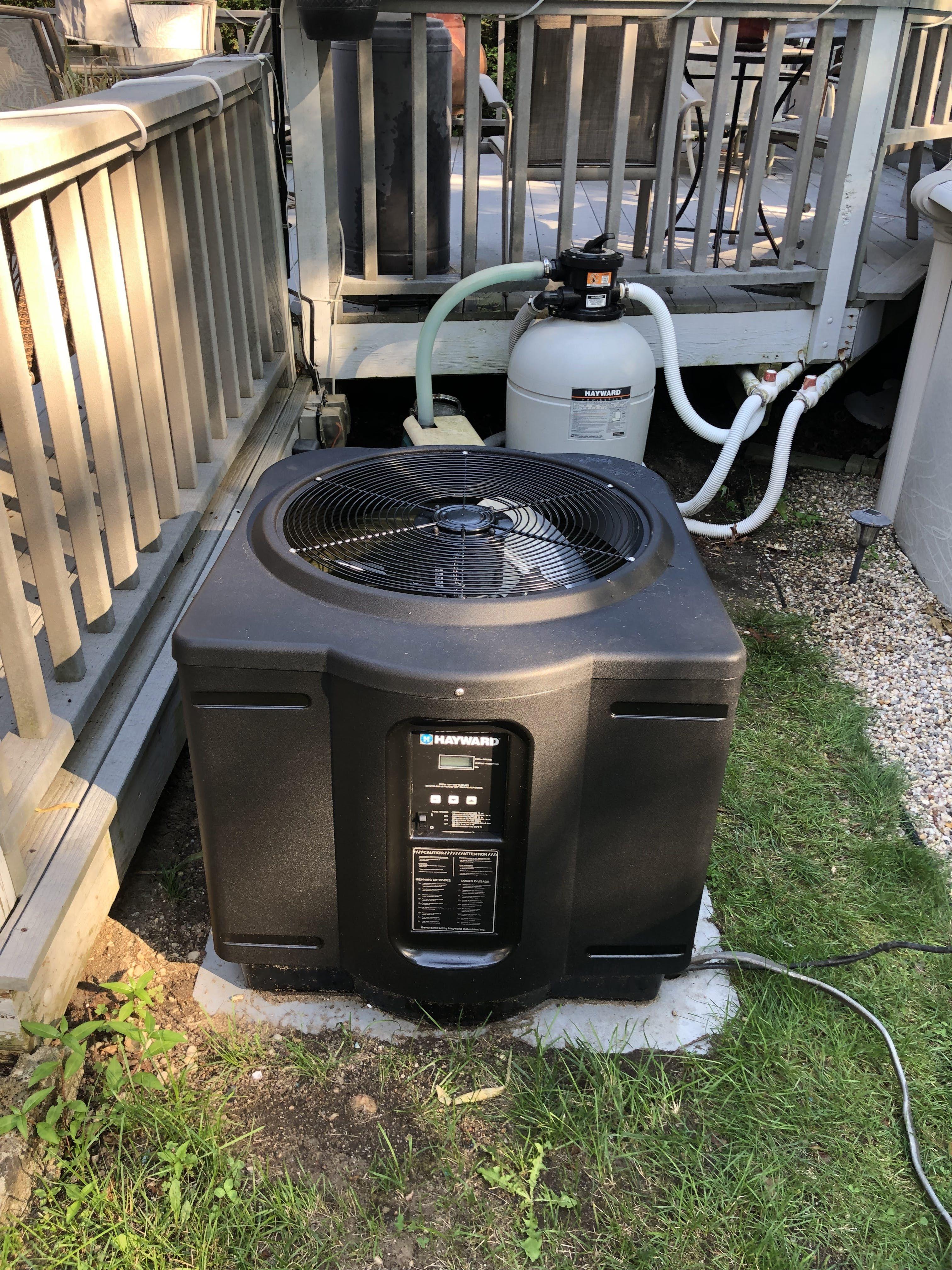 Hayward hp50ta review i above ground pool heat pump pool