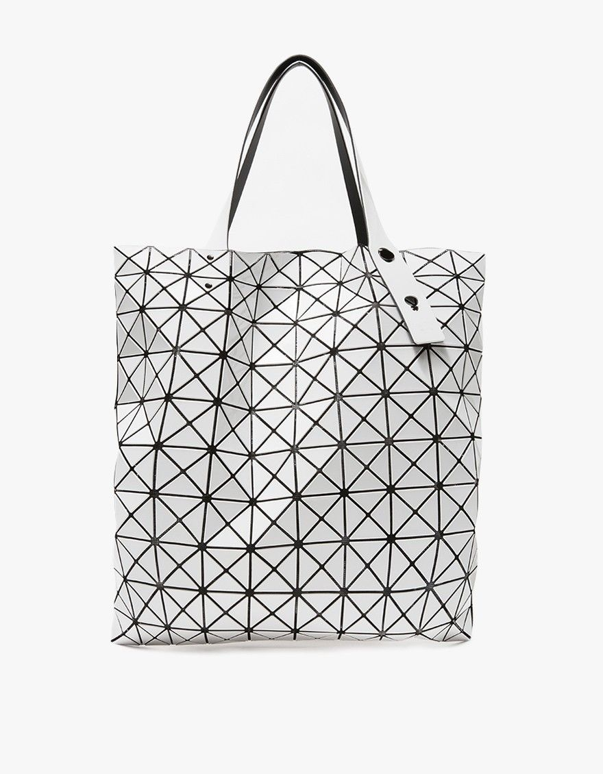 8cb00d5e21 BAO BAO ISSEY MIYAKE   Prism Basic Tote in White