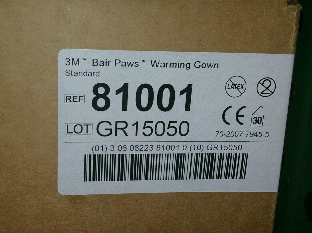 3M Bair Paws Flex Warming Gown STANDARD 81001 case of 30 Hospital ...