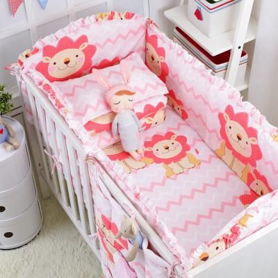 5pcs Baby Crib Cotton Bumpers Bedding Set Kids Bedding Sets Newborn Baby Bed Set Crib Bumper Baby Crib Bumpers Newborn Baby Bedding Kids Bedding Sets