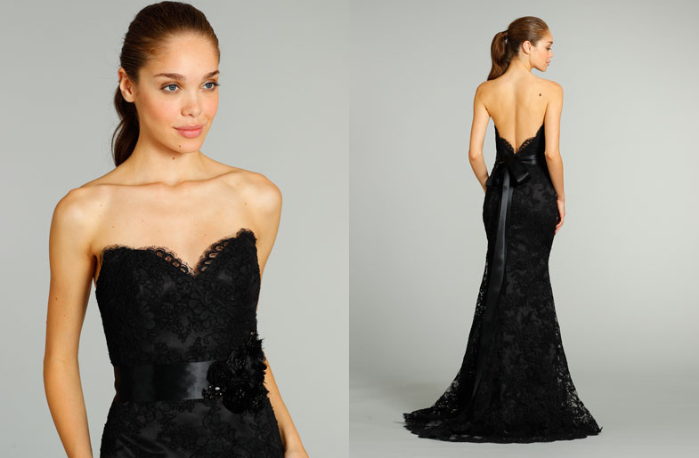 long black lace bridesmaid dresses | Bridesmaids-dresses-for ...