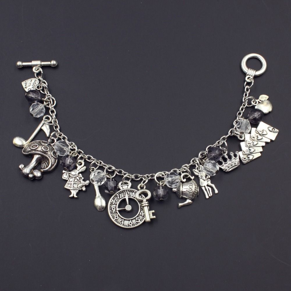 Inexpensive Charm Bracelets: Cheap Bracelet Charms Gold, Buy Quality Charm Pewter