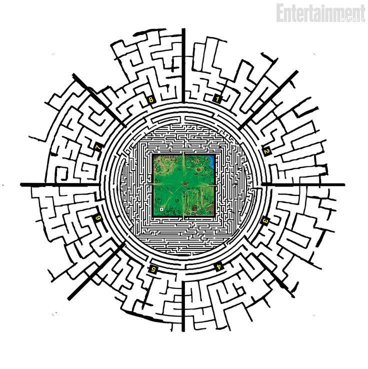 minecraft maze runner download map