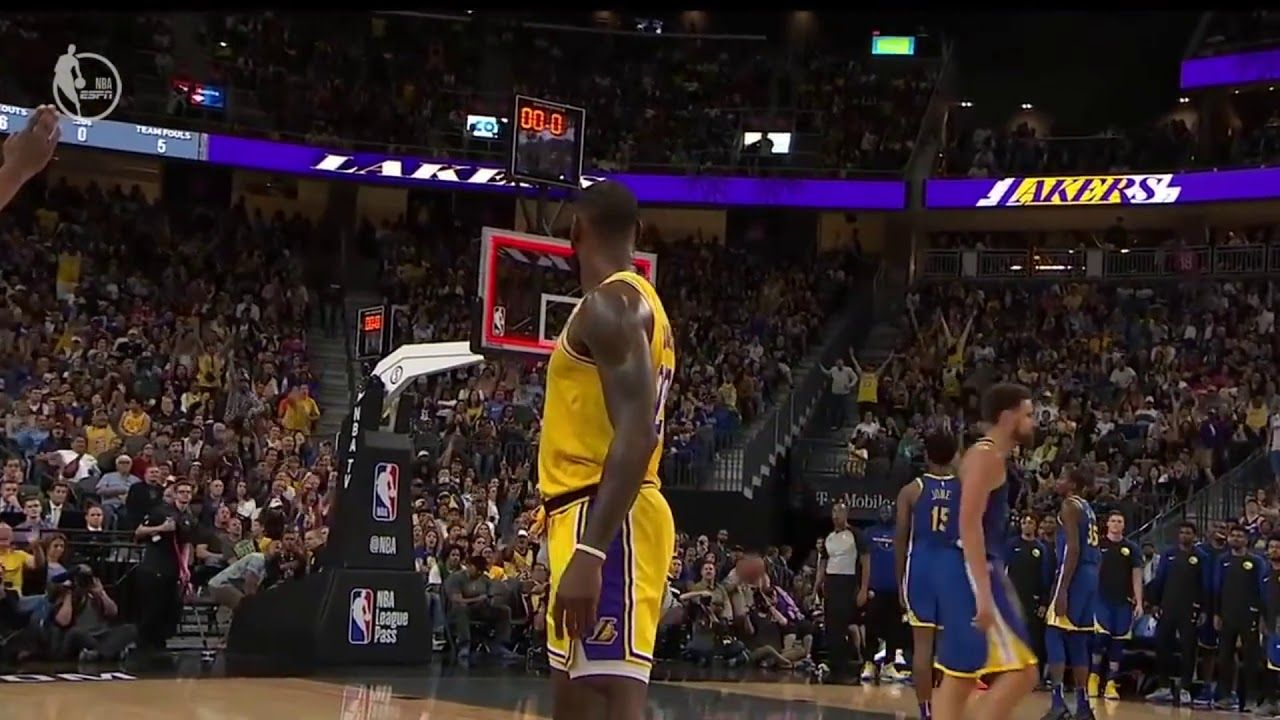 Why Lebron S Greatest Opportunity For Another Championship Awaits Laker Lakers Win Lakers Nba Tv
