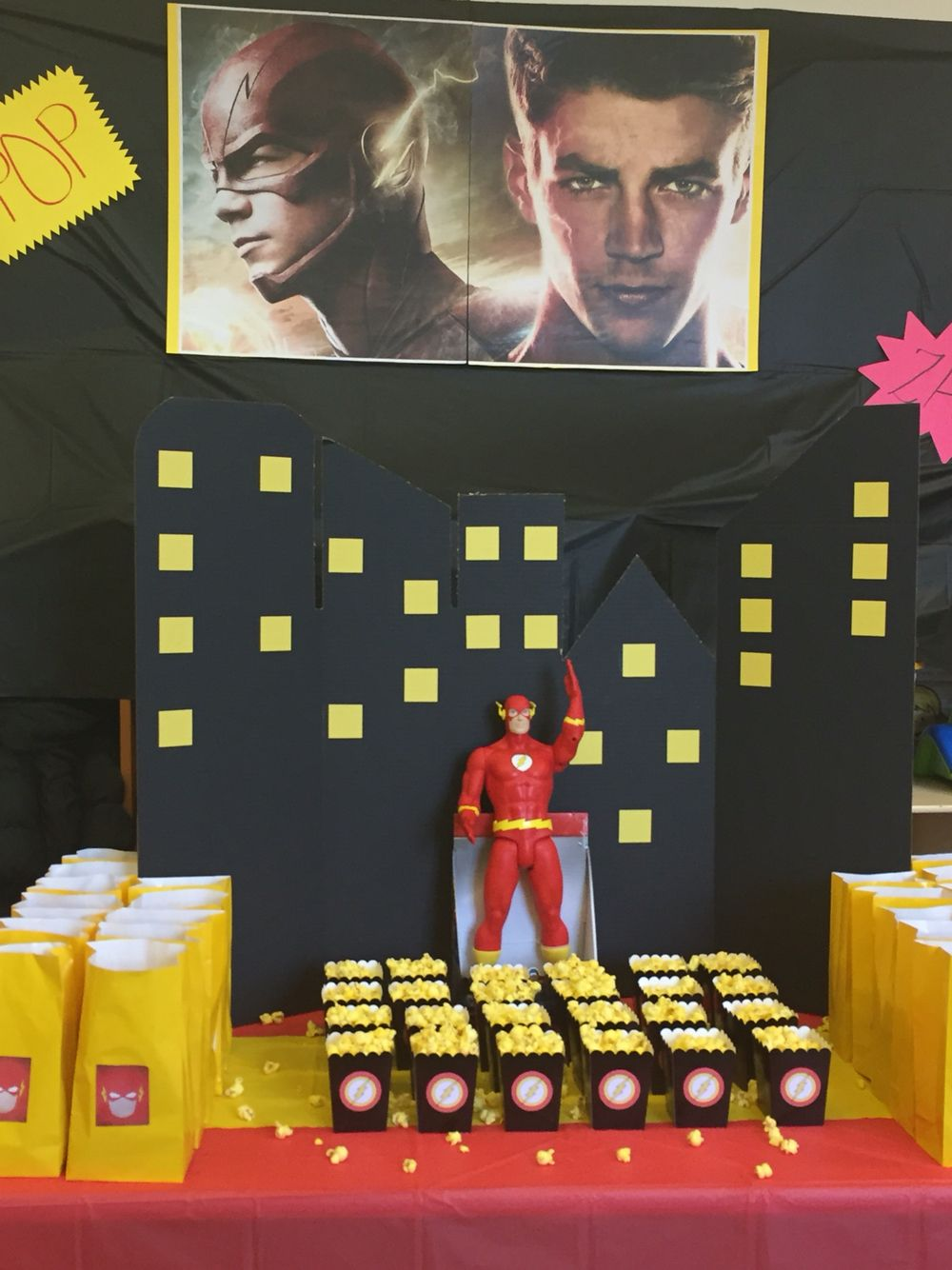 My Own Diy Flash Party Theme Quinceanera Party Superhero