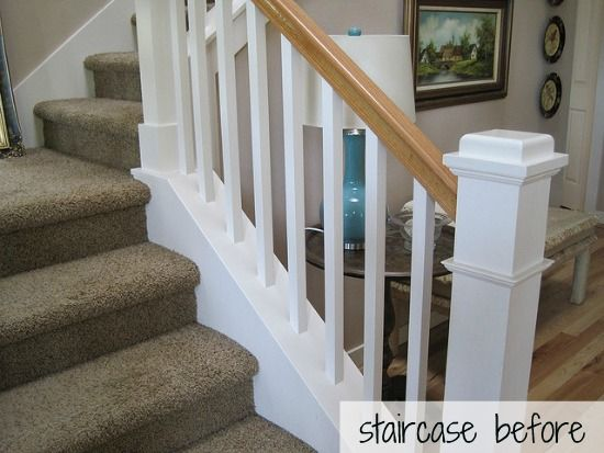 Best Hickory Hardwood Flooring And Staircase Makeover 640 x 480