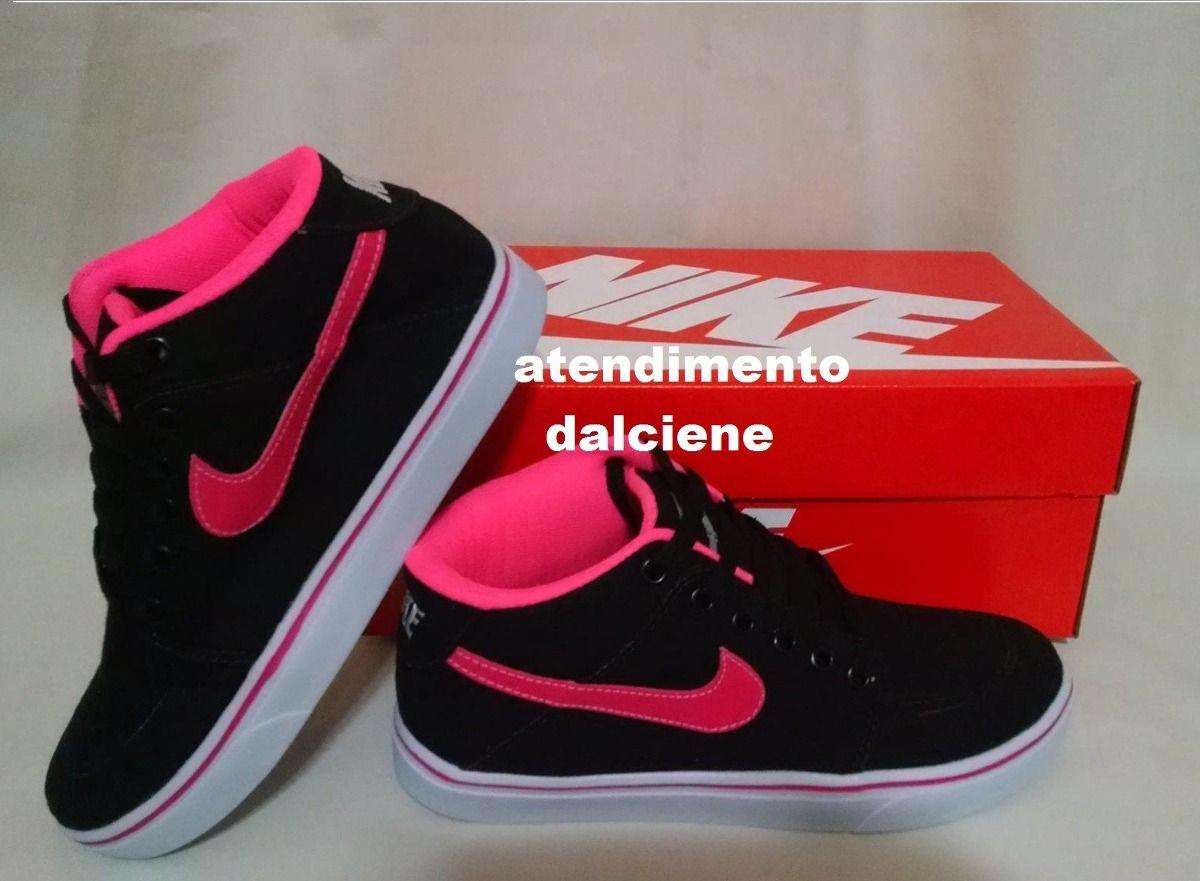 533c54d7e29 Tenis Botiinha Nike Cano Alto A Pronta Entrega . - R  89