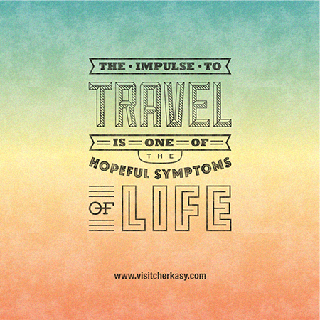 Life Quote Posters Captivating Typographybased Quotes About Traveling And Life  Designtaxi