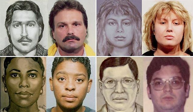 Houston Top Forensic Artist Lois Gibson Sketch Descriptions Without Having Met The Suspect. The ...