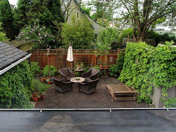 4yard11 jardines pinterest patio trasero jardines y for Jardines traseros pequenos