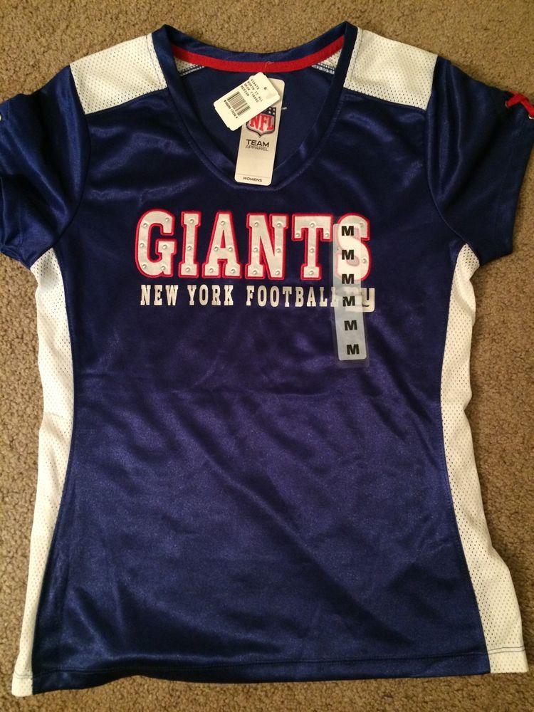 online retailer 13958 3c50b Details about Football T-shirt New York Giants Football NFL ...
