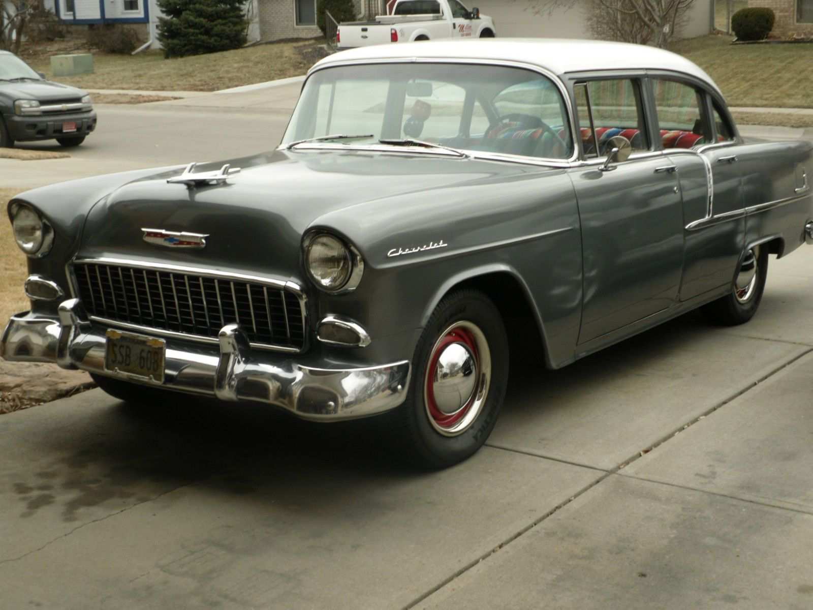 1955 chevrolet chevy 210 4 door 4 3l 6 cylinder w manual rh pinterest ie 1955 chevy manual to automatic swap 1955 chevy manual master cylinder