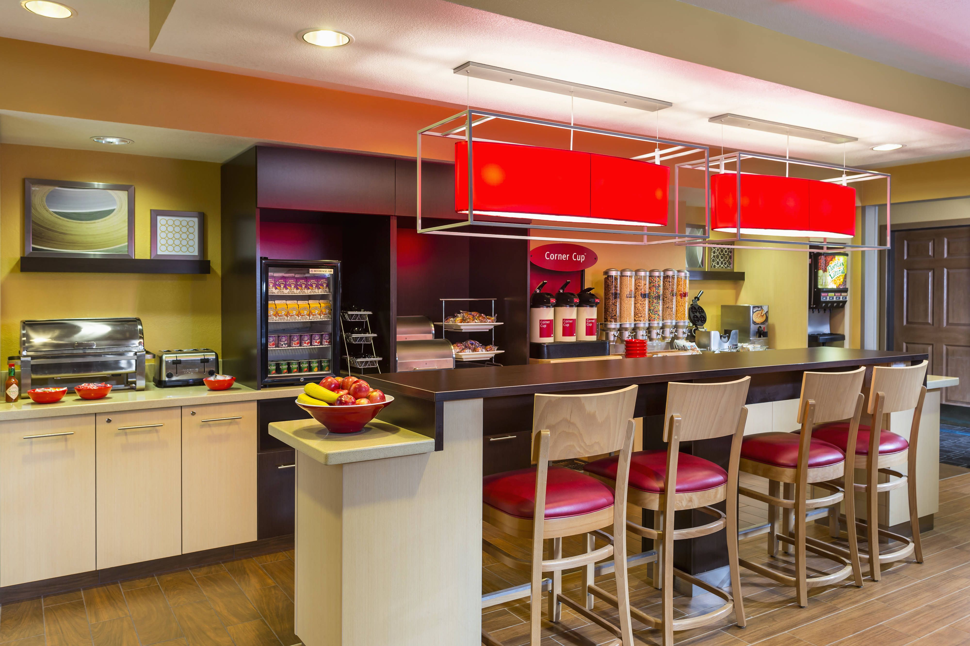 Towneplace Suites Phoenix North Breakfast Area Holiday Guest Travel Suites Hotel Amenities Breakfast Area