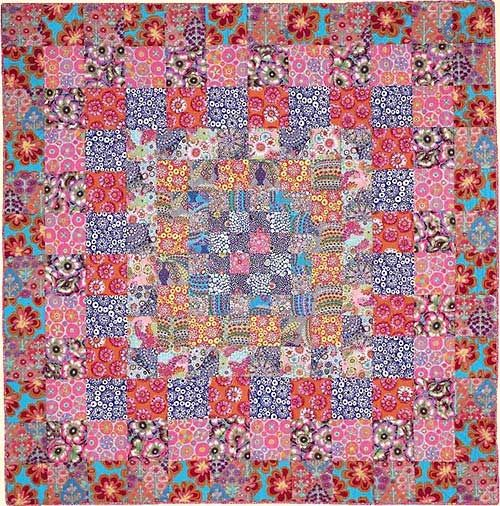 Persian Fabric: PERSIAN From Kaffe Fassett's Quilts En Provence