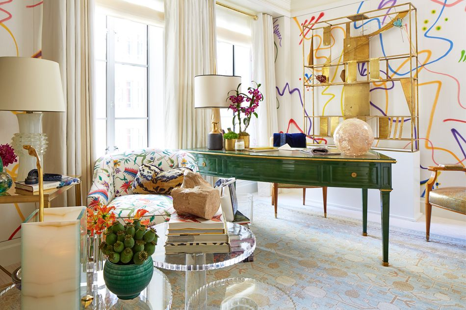Where Interior Designers Feel Free To Show Off Home Office