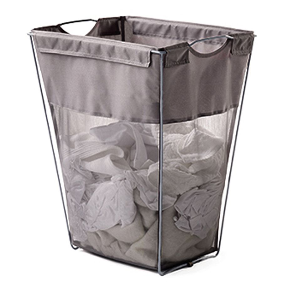 Lowes Laundry Baskets Shop Neatfreak Polyester Clothes Hamper At Lowes  Mieszkanie