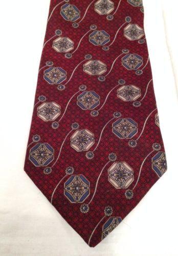 930b449fd3bf Johnny Carson Tie Red Necktie Silk Made In USA   Ties   Pinterest ...