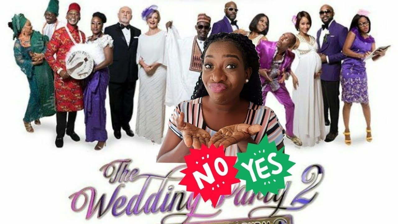 The Wedding Party 2.The Wedding Party 2 Destination Dubai Nigerian Movies