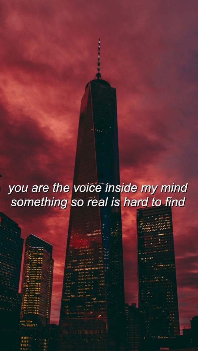 Eres La Voz Dentro De Mi Mente Algo Tan Real Que Es Difícil De Encontrar.