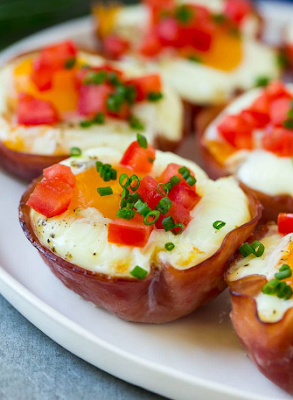 Ham And Egg Cups Resep Masakan Untuk Anak Make Ahead Breakfast Egg Cups Recipe Ham And Eggs
