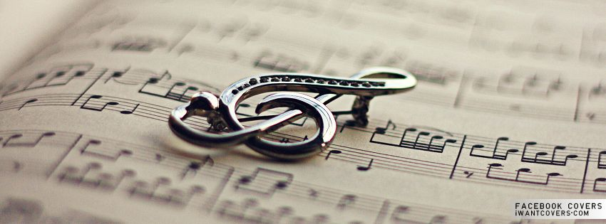 Music Charm Facebook Covers Music Wallpaper Music Notes Facebook Cover