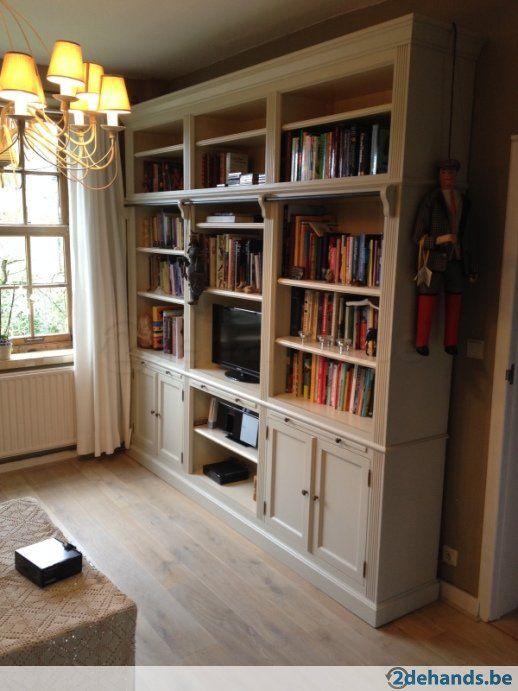 Grote Landelijke Boekenkast 2dehands Be Home Kasten