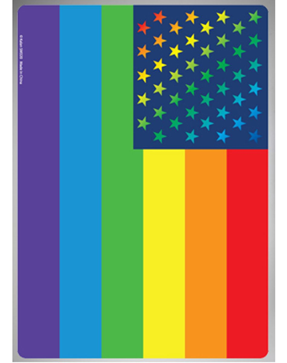 Rainbow Flag Tin Sign