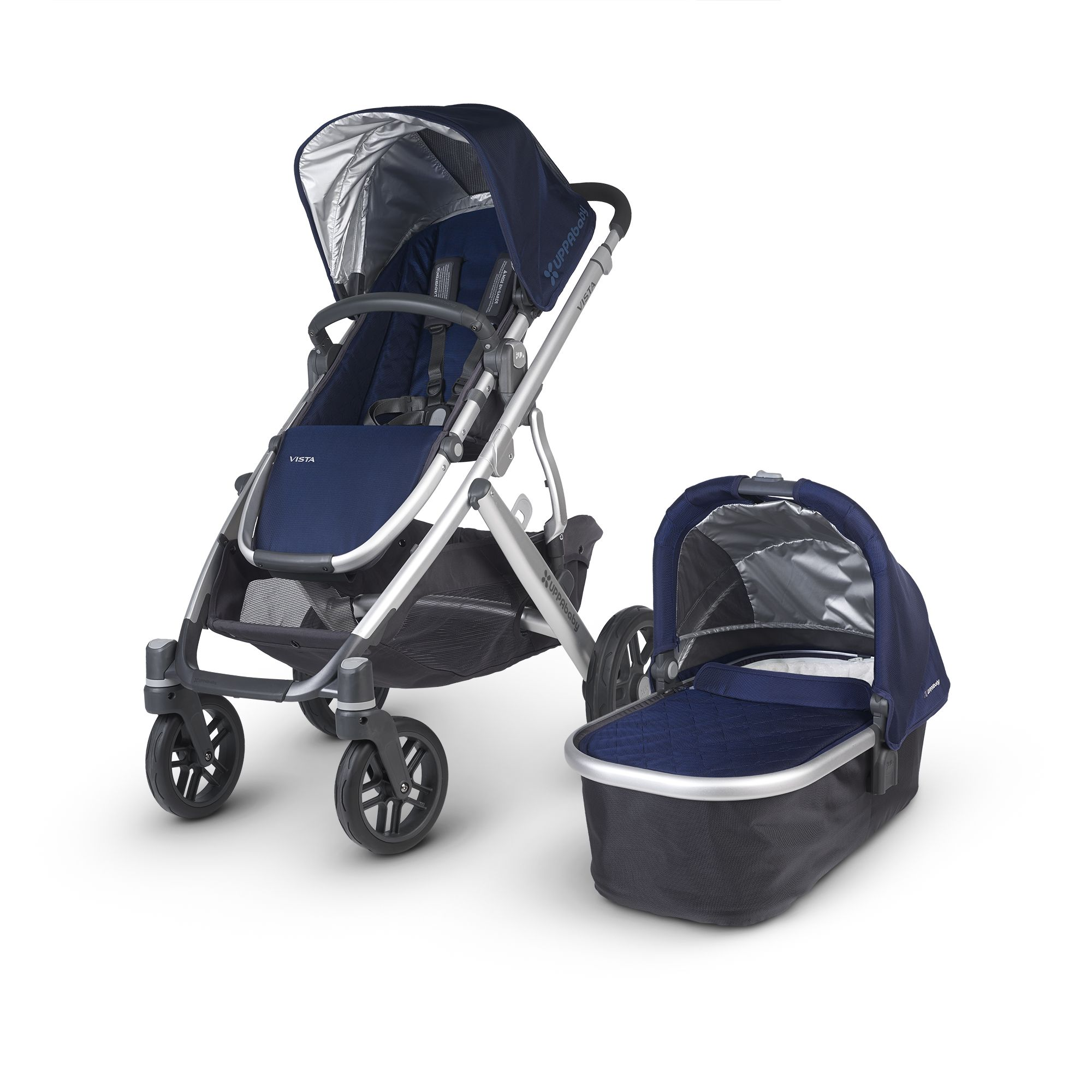UPPAbaby Vista Stroller. Able to hold your little one