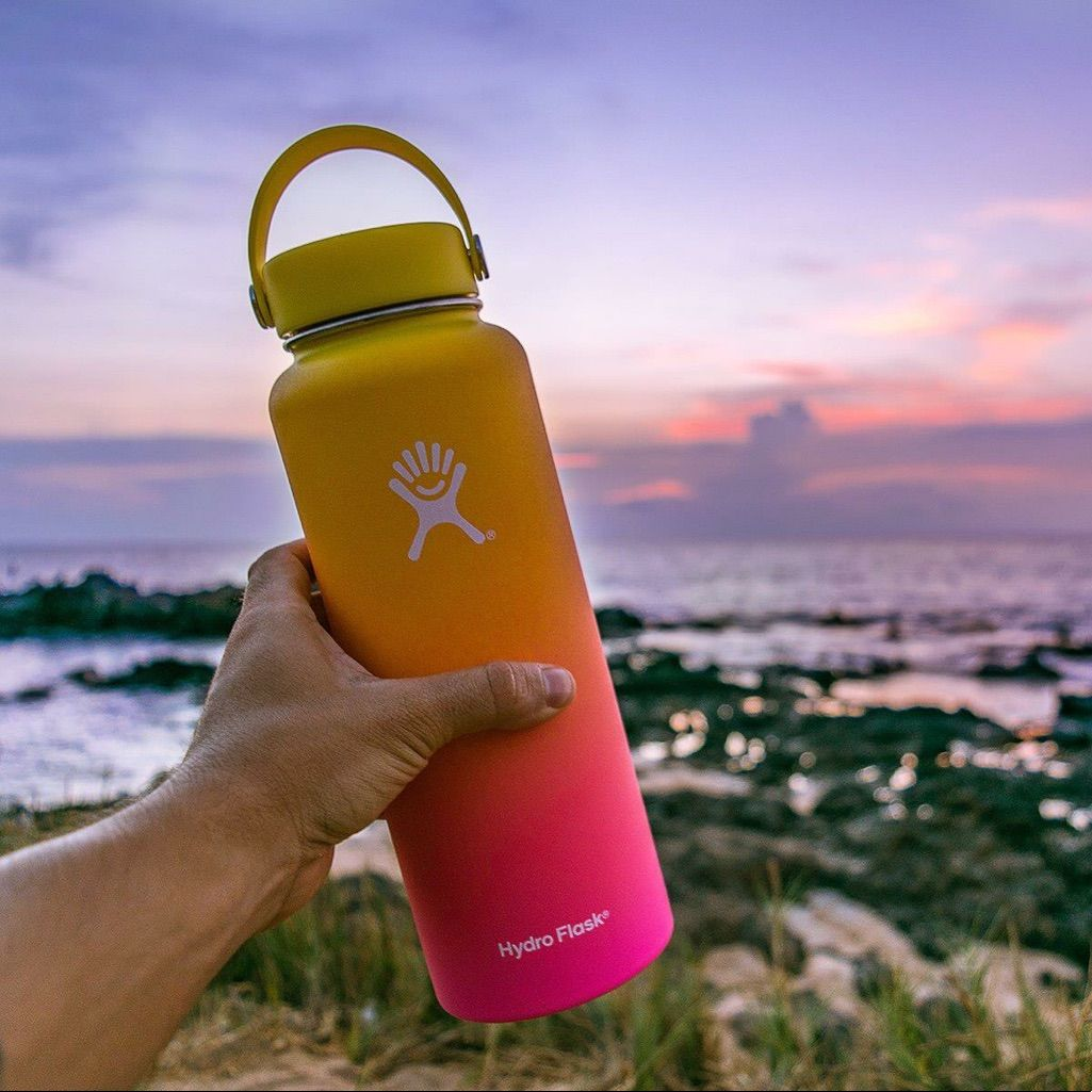 Hawaii Exclusive Ombre Hydroflask | Birthday in 2019 | Hydro flask