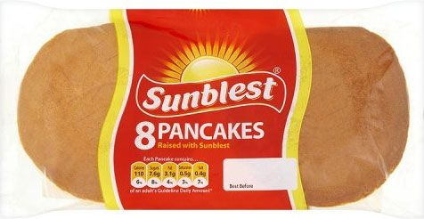 Sunblest Pancakes 8 Pancakes Patisserie Asda