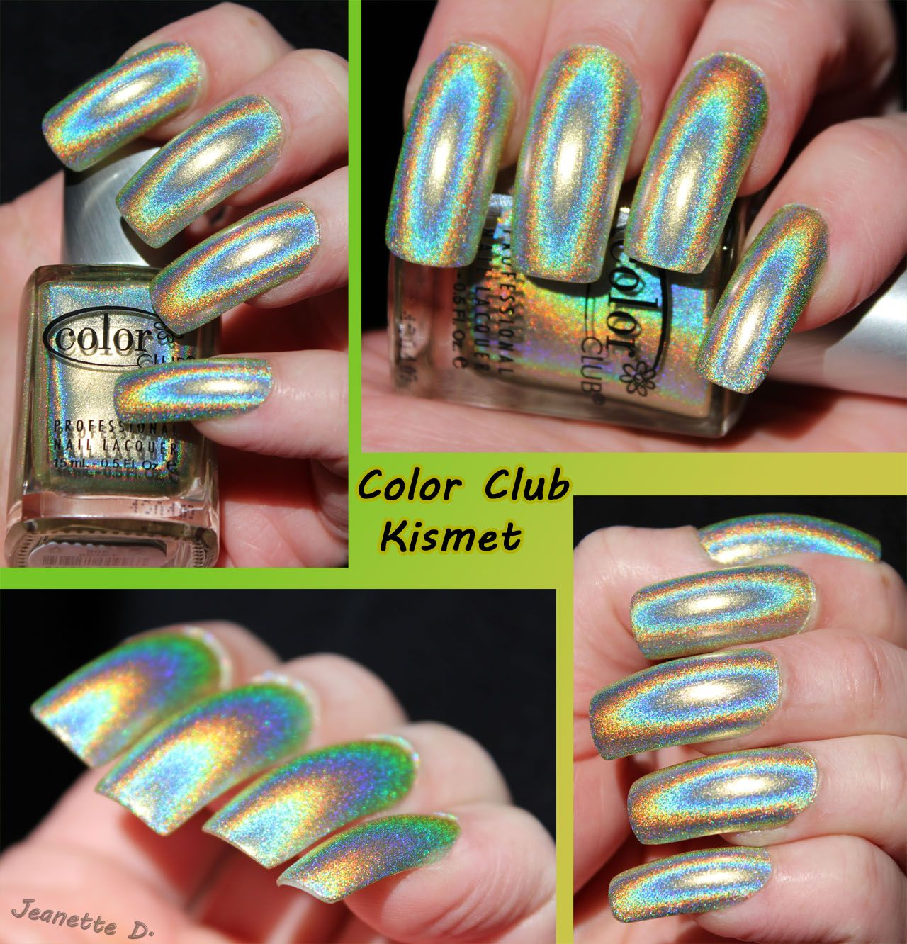 My favorites holos: Color club Kismet ♥ ♥ | Nails and Polish ...