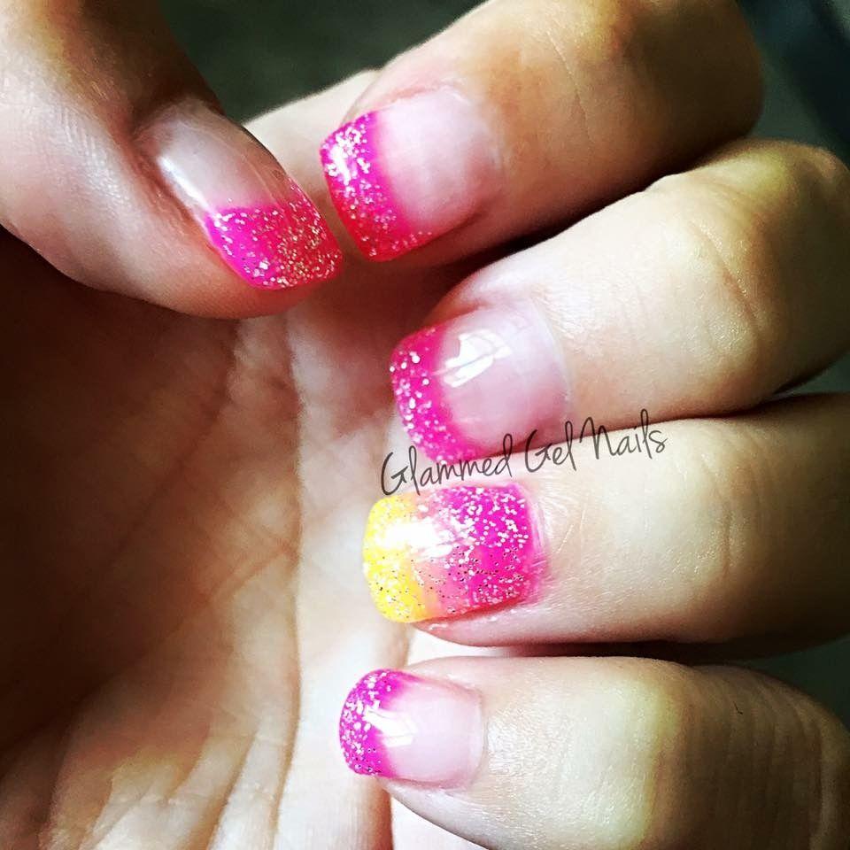 #Summernails #pinknails #gelnails