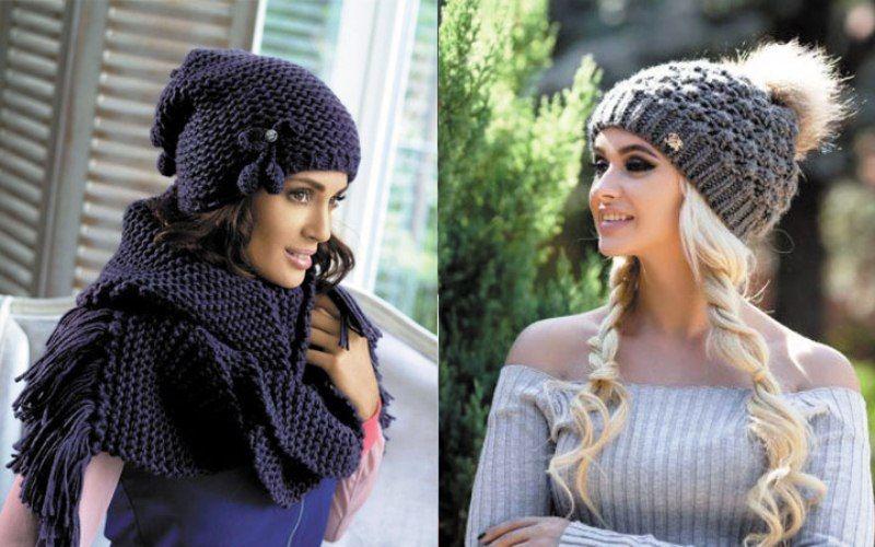 Самые модные шапки осень-зима 2017-2018 года - Фото Мода  a111869d7eaa7