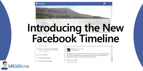 Introducing The New Facebook Timeline