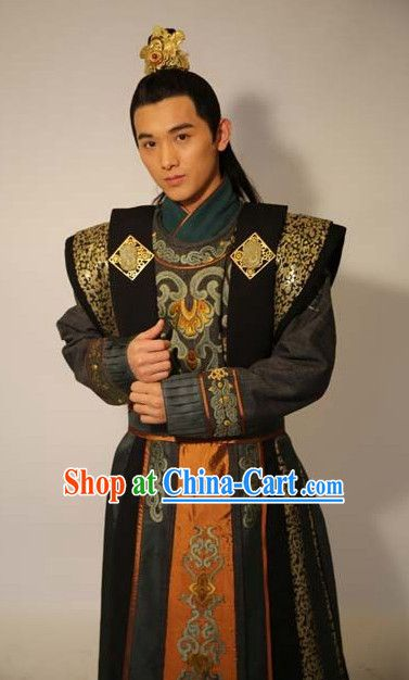 Chinese Tang Dynasty Prince Men Clothes Chinese Colture