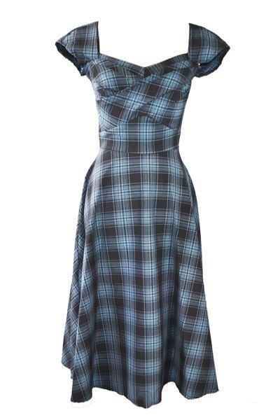 Adorable   http://www.pinupdarling.com/cecilia-swing-dress-by-stop-staring/