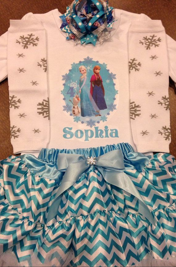 Frozen birthday outfit Elsa outfit Elsa birthday by SaraSewtique