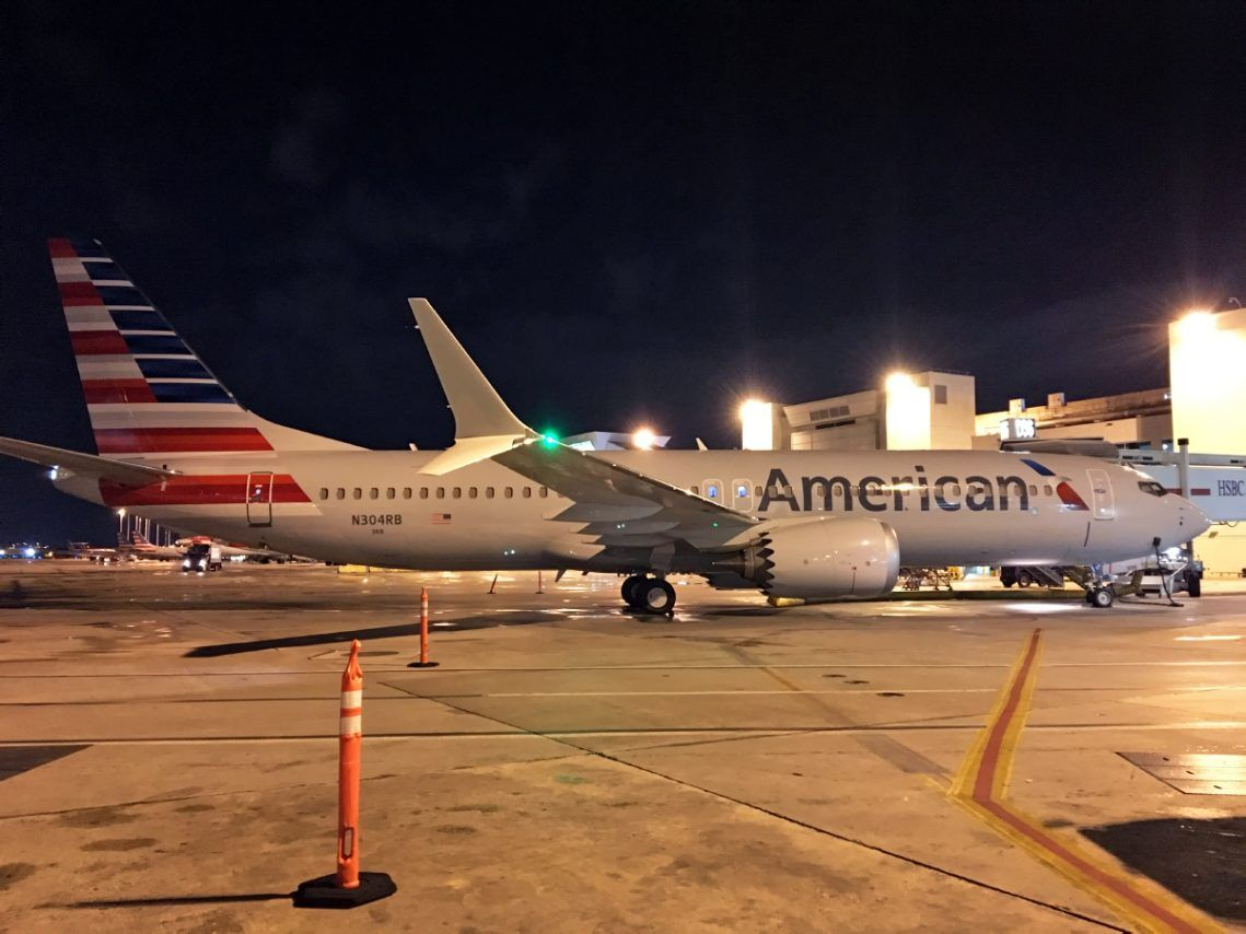 American Airlines Fleet Boeing 737 MAX 8 Details and