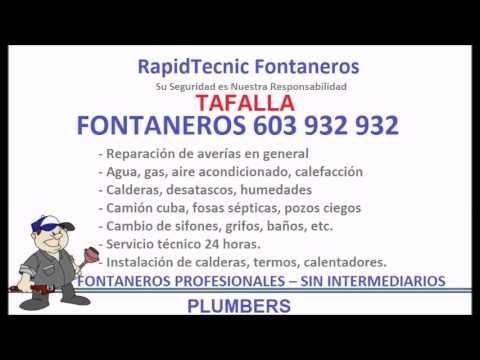 Fontaneros Tafalla 603 932 932