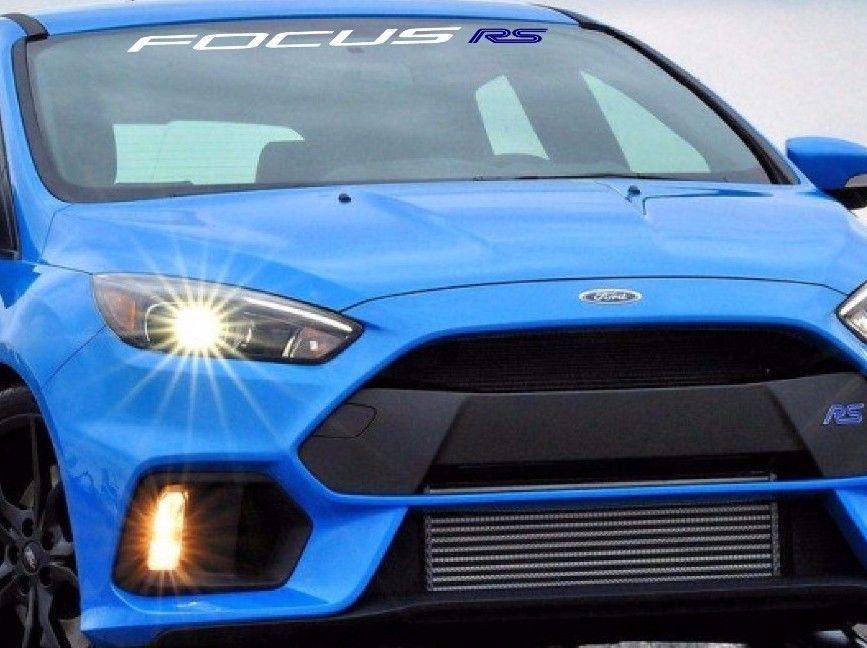 FORD FOCUS RS WINDSHIELD DECAL | eBay Motors, Parts & Accessories ...