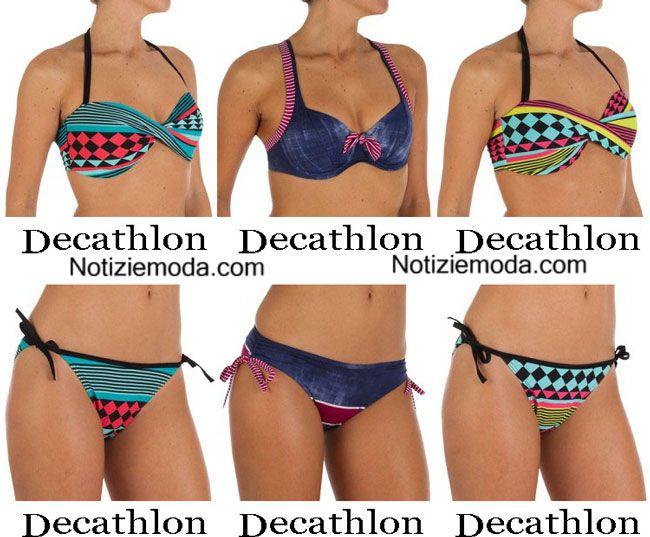 Moda mare Decathlon estate 2015 costumi da bagno bikini | Costumi da ...
