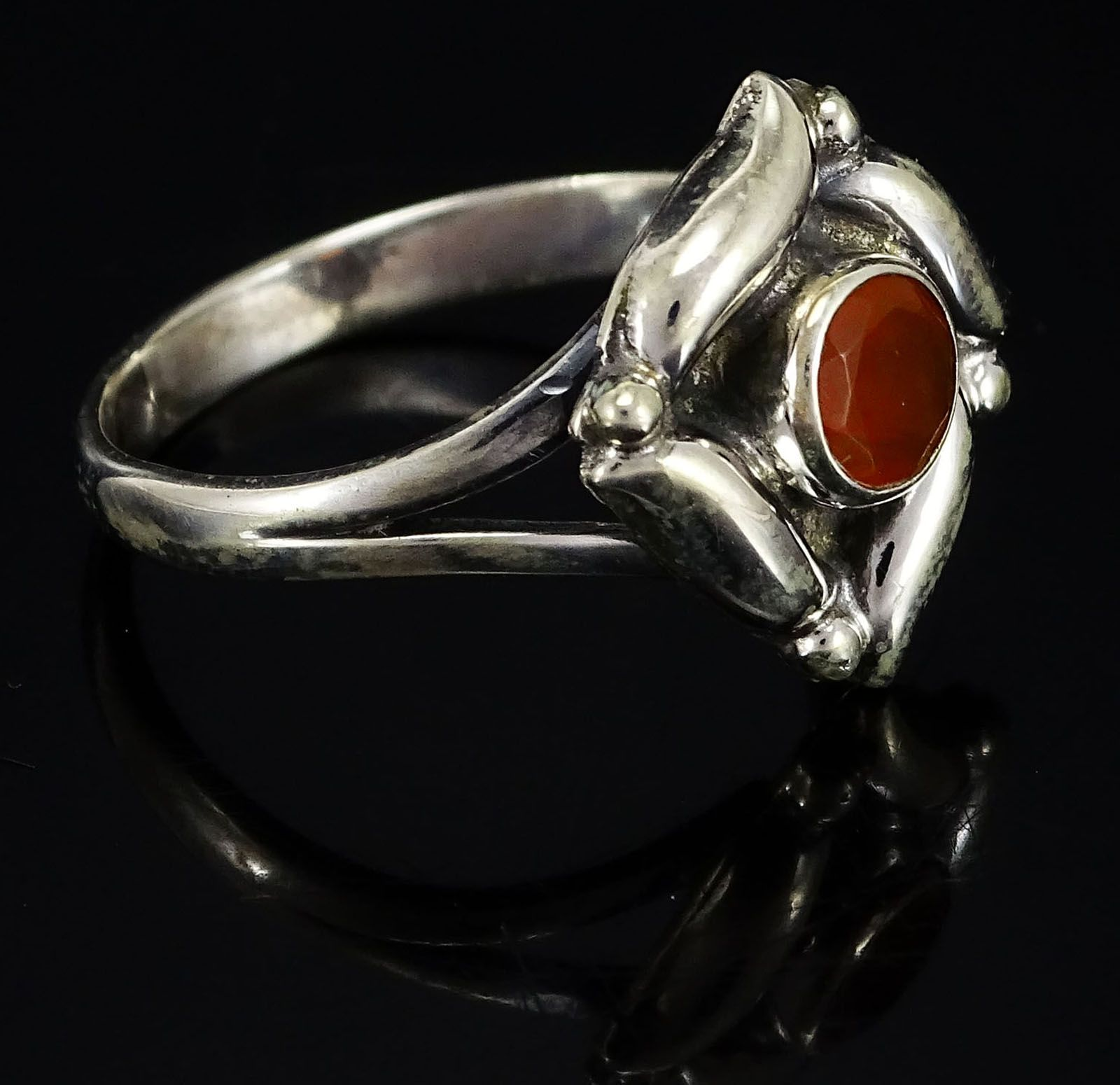 Details About Carnelian 925 Sterling Silver Ring Uk Sz P 1 2 Gorgeous Jewelry Sjr4020 Par Silver Rings Ring Size Gemstones