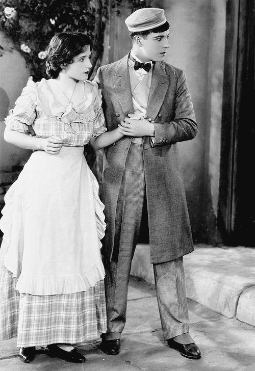 Norma Shearer and Ramon Novarro in The Student Prince in Old Heidelberg (1927)