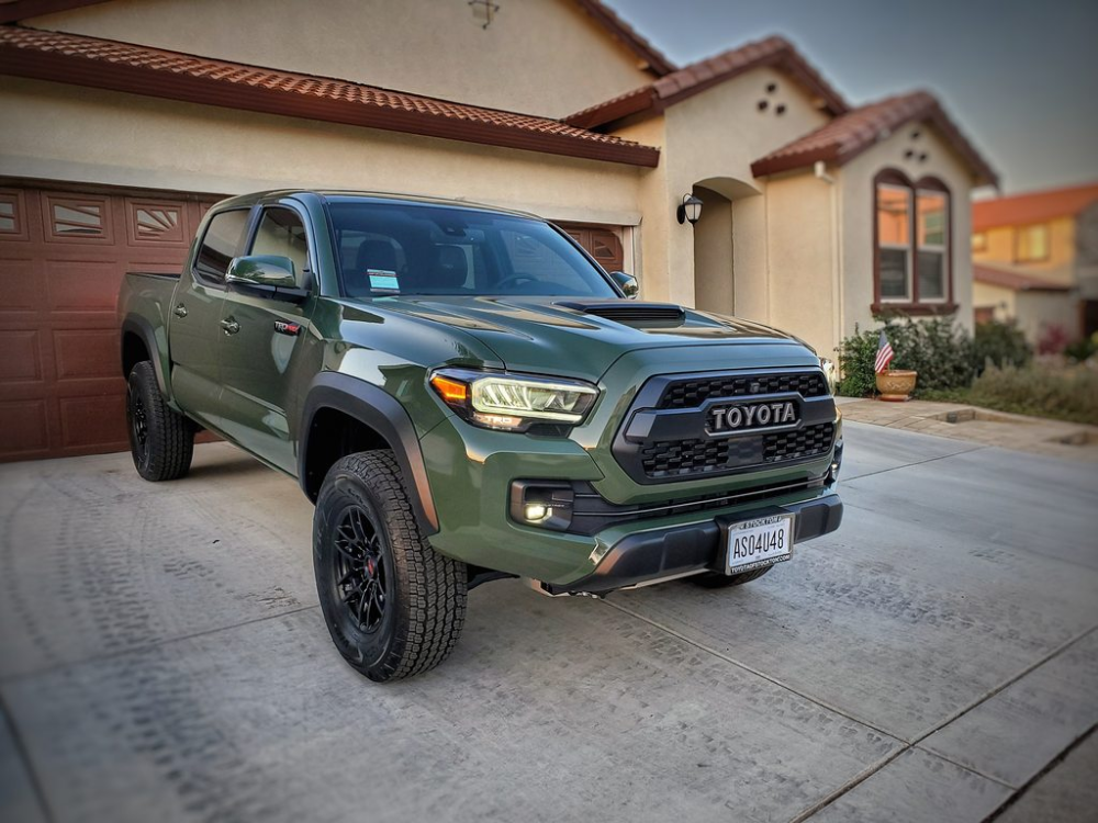 2020 TRD Pro Army Green (With images)