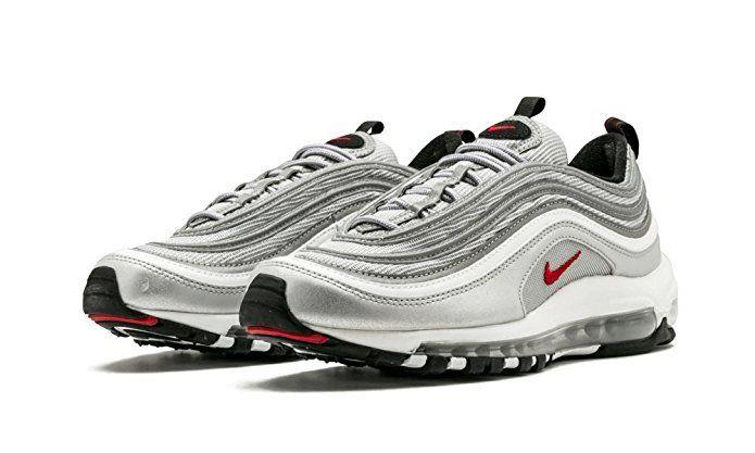 silver nike scarpe 97