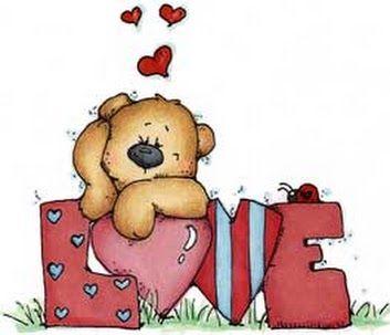 Ursinho com LOVE