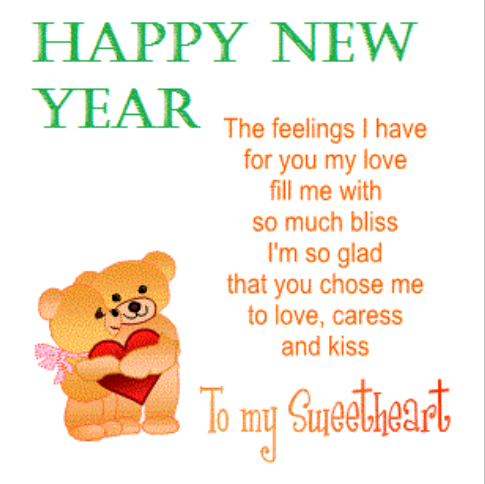Cute Love Poems for Her New Year 2017 | Happy New Year 2018 Quotes ...