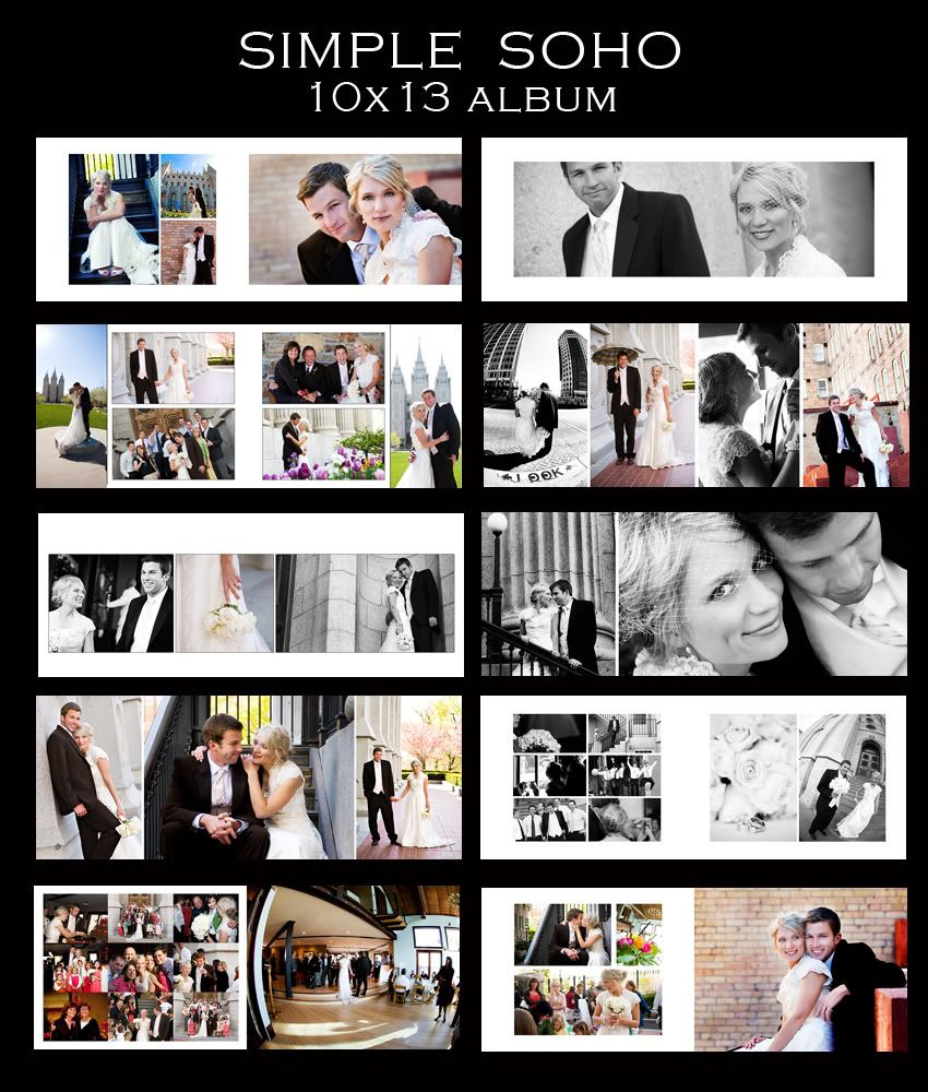 for all you wedding photographers you know that designing albums is
