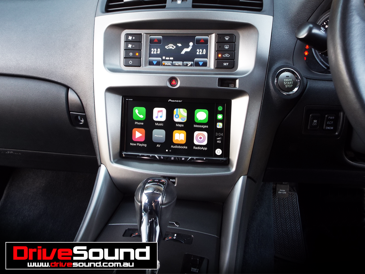 Lexus Apple Carplay >> Lexus Is250 With Apple Carplay Installed By Drivesound