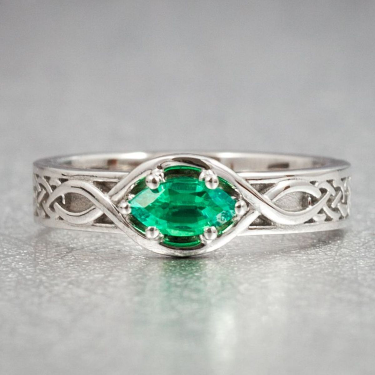 Celtic Engagement Rings Irish and Claddagh Engagement